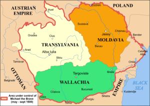 Los tres reinos rumanos
