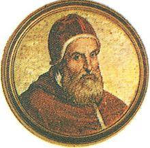 Efigie del Papa Clemente VIII