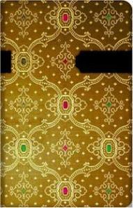 Portada de la 'Antología' de Foullon, que intenta imitar la ornamentación de la caja original.